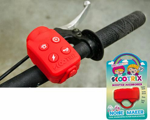 Smart Bike Safety Gadgets - Scootrix Bike Noise Maker (15) 13