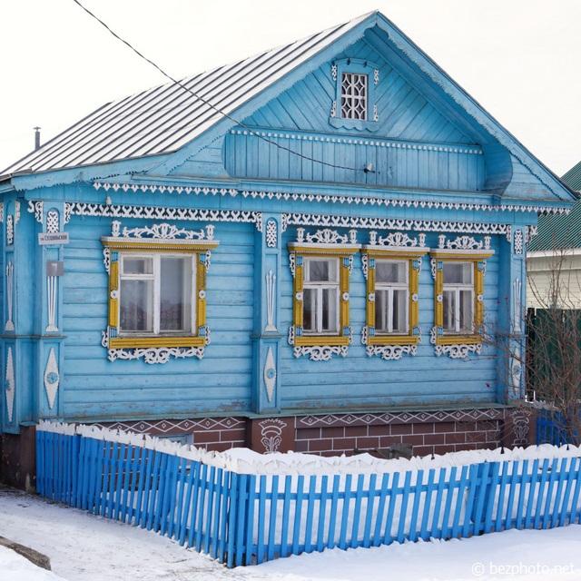 суздаль деревянные дома