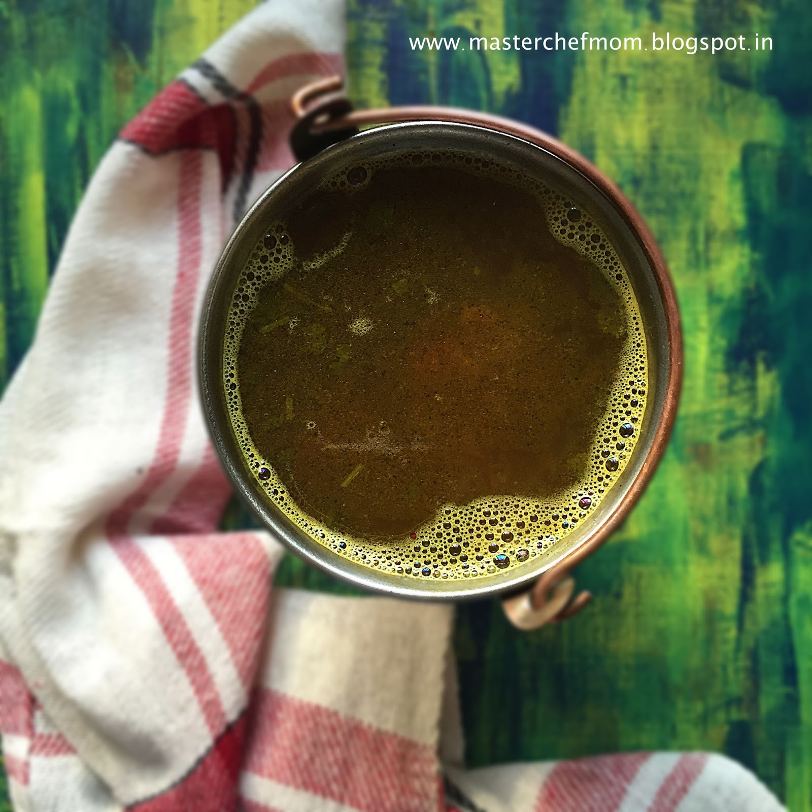 how to make rasam with rasam powder at home