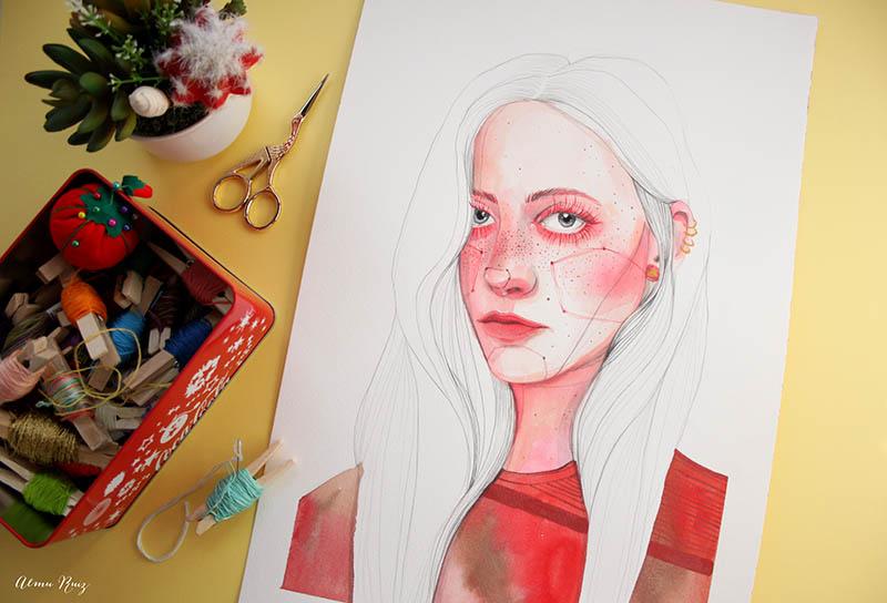 Ilustración de Ana Santos