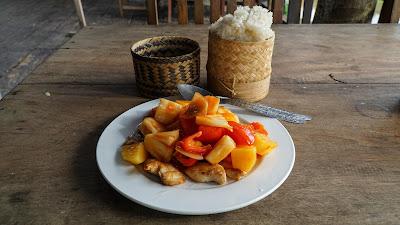 Rainbow Restaurant in Muang Ngoi Neua