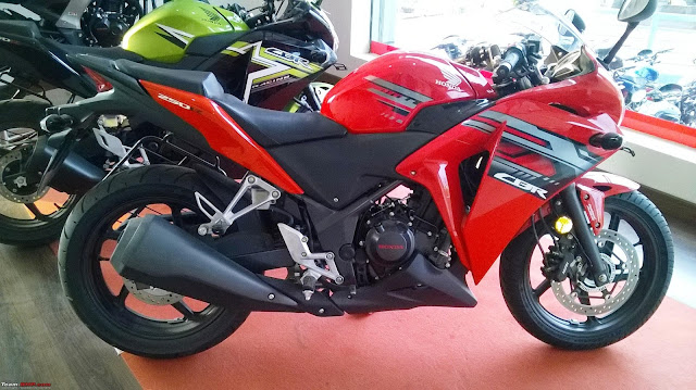 Honda CBR 250R Body Highlights :