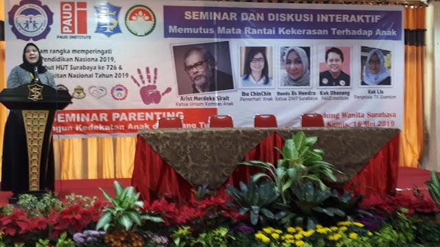 Mengambil Peran dan Fungsi Gerakan Memutus Mata Rantai Kekerasan Terhadap anak