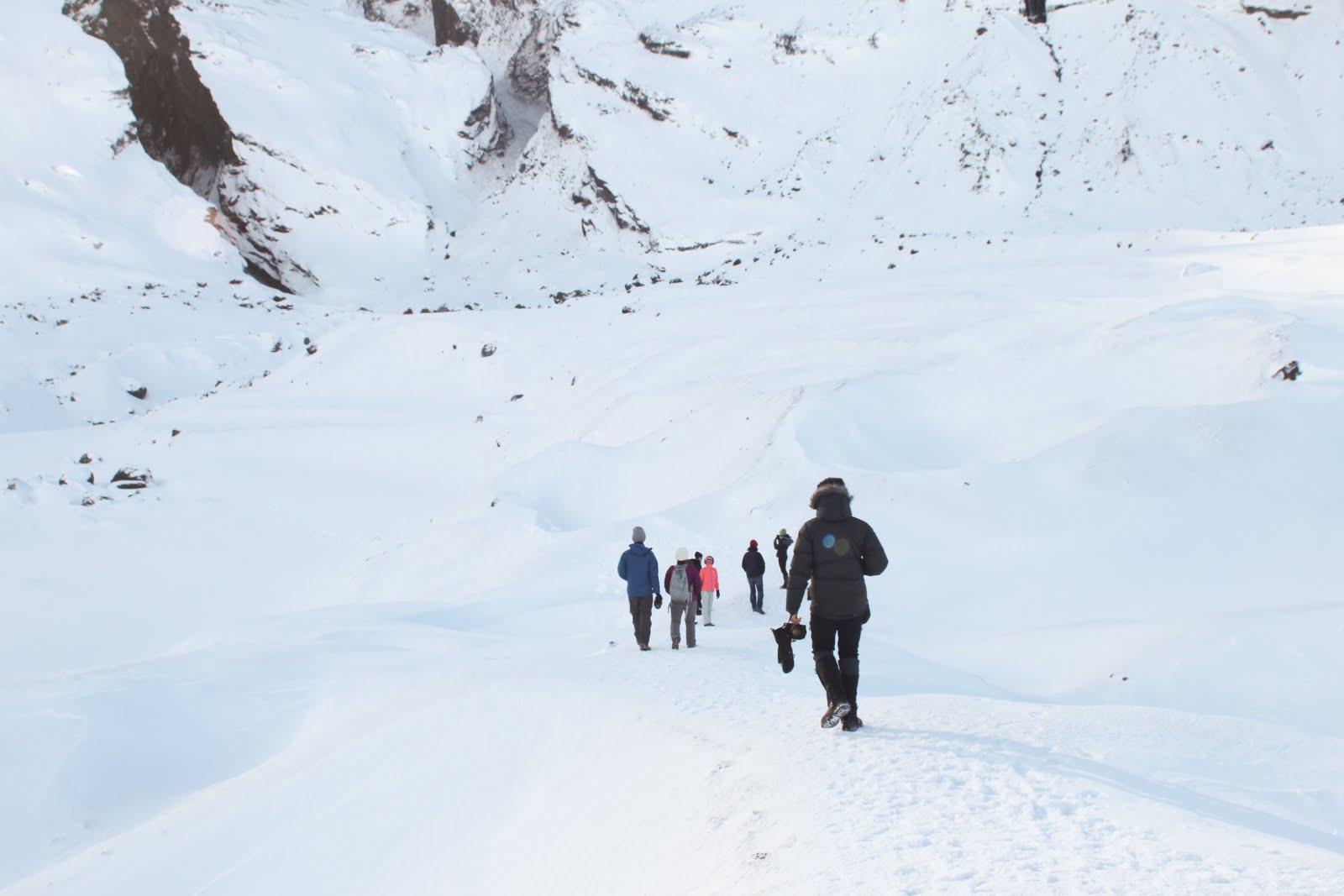 Thorsmork in winter