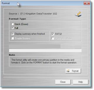Memperbaiki Flashdisk dengan OnBelay V2