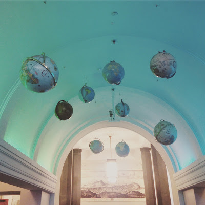 National Library of Scotland - globes
