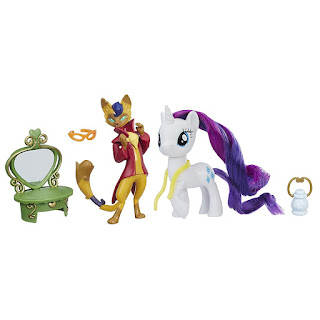 Capper Dapperpaws and Rarity Brushable