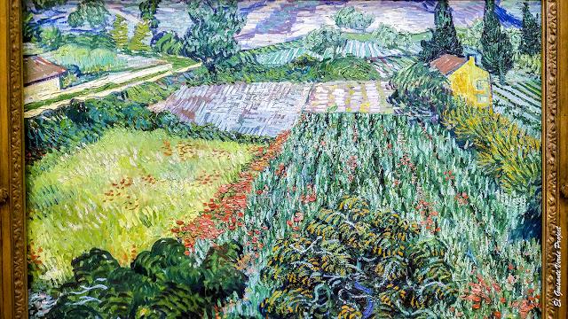 Van Gogh, 'Campo de Amapolas' - Pinacoteca de Bremen por El Guisante Verde Project