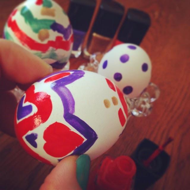 oeufs de Pâques vernis à ongles Julie Philippon #mamanpg