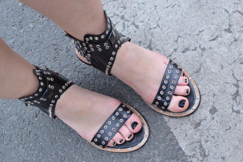 sandale like Isabel Marant de chez Shein