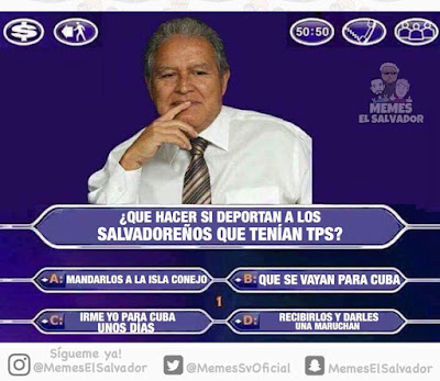 postura del FMLN con respecto al TPS
