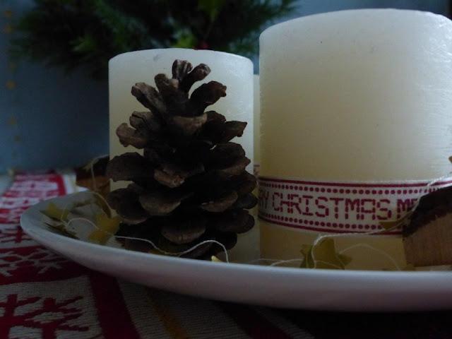 Adventskranz Weihnachtsdeko Advent Deko Tannengrün Kerzen DIY Gesteck