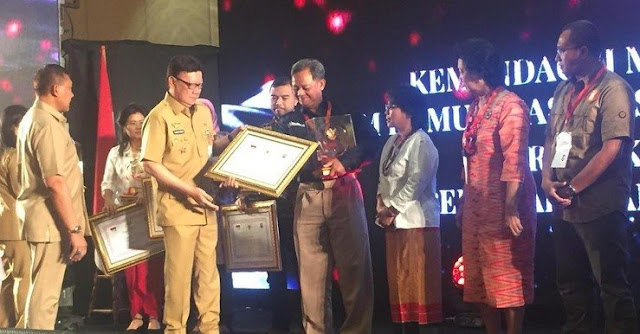 Subhanallah! GP Ansor Raih Penghargaan Ormas Kategori Khusus 2018