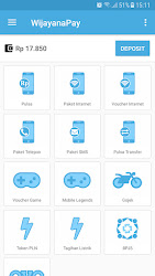 Tampilan Aplikasi Halaman Depan