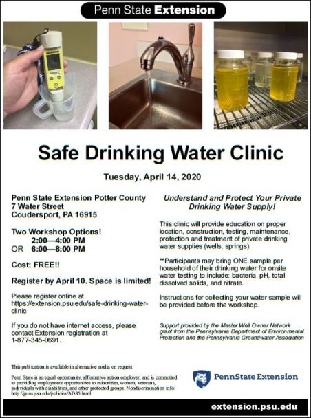 4-14 Safe Drinking Water Clinic