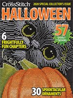 FIND BLUE RIBBON DESIGNS IN THE 2020 Halloween Collector's ISSUE OF JCS MAGAZINE