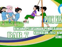 Rpp PJOK Kelas 5 SD Bab 7 Semester 2 Kurikulum 2013 Revisi 2017