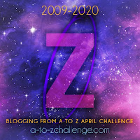 #AtoZChallenge 2020 Blogging from A to Z Challenge letter Z