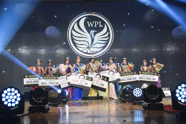 Winners of the Miss Prestige World International Pageant 2016