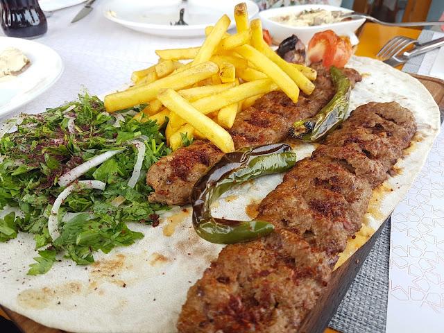 Spicy Adana Kebab - Iskender Doner, Kuwait