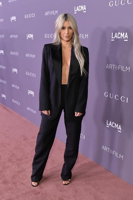 Kim Kardashian LACMA Art + Film Gala