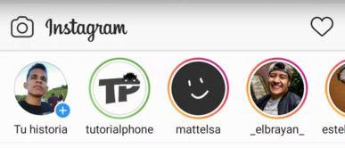 qué significa el círculo verde en las historias de Instagram