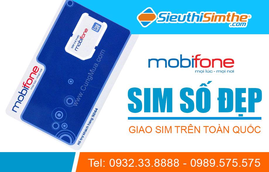 Sim MobiFone đầu số 0121 dành riêng cho người yêu sim số đẹp