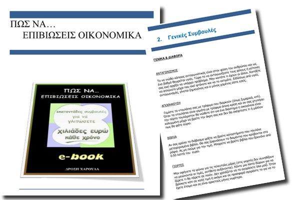 «Πως να επιβιώσεις οικονομικά» - Δωρεάν Ελληνικό βιβλίο για την κρίση