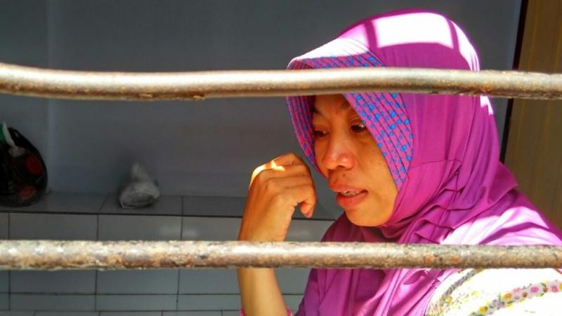 Baiq Nuril Maknun di PN Mataram