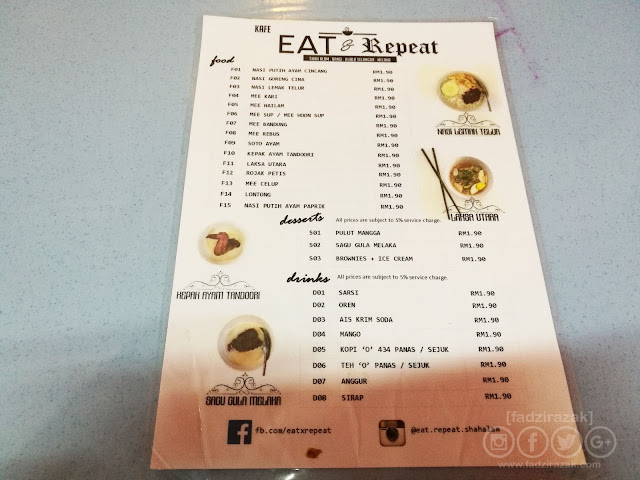 Eat & Repeat Shah Alam