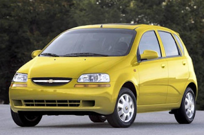 Chevrolet Aveo Modifikasi