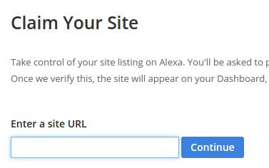 Claim Site Alexa