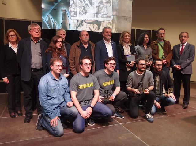 Polémica entrega de premios del 35 Salón Internacional del Cómic de Barcelona