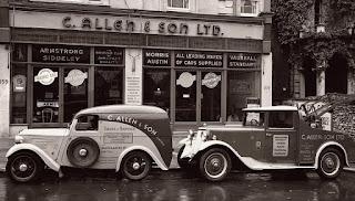 C Allen & Sons Ltd garage forecourt image 02