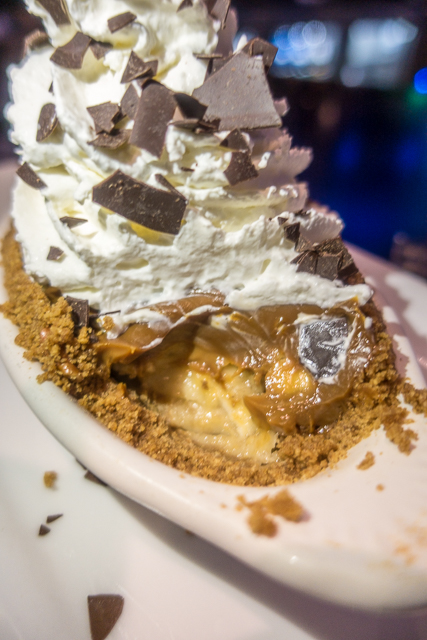Banoffee Pie at Nona Blue - Ponte Vedra, FL