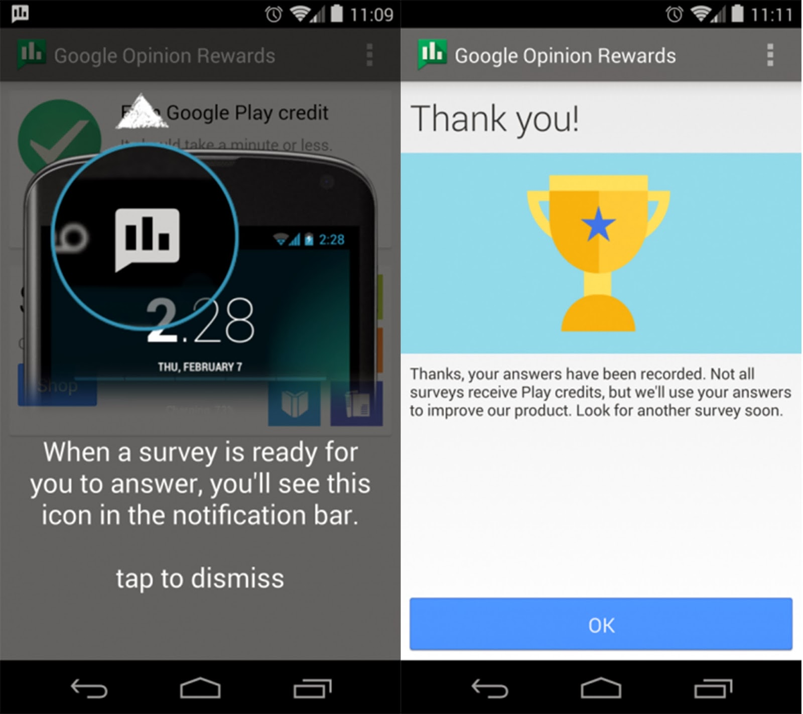 Thatgeekdad Releases Opinion Rewards App To Android Answer Surveys And Receive