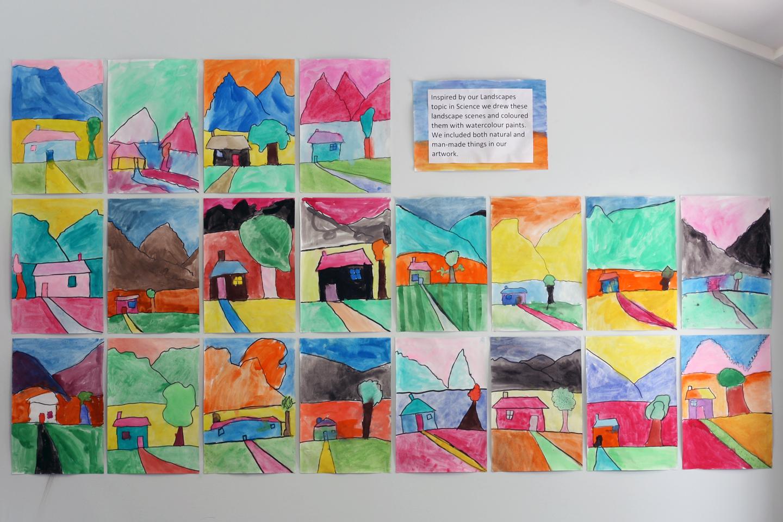 art with mr hall