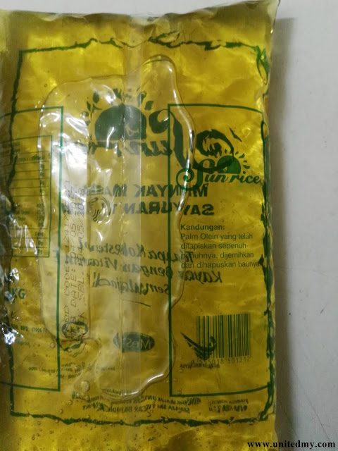 Malaysia cooking oil contain palm oil
