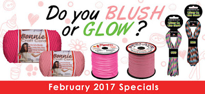 Blush (Pink) or GLOW (Paracord) Sale at Pepperell.com!