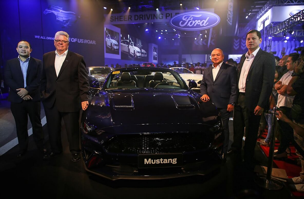 Ford Launches The New and Improved Mustang