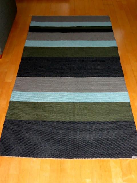 käsinkudottu matto, rug
