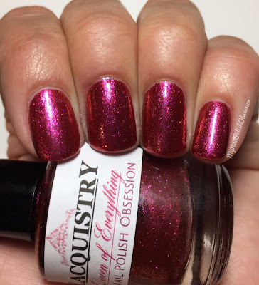 My Nail Polish Obsession 4th Blogiversary Custom Polishes; Lacquistry Queen of Everything