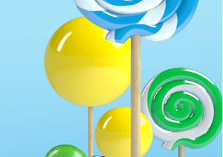 Gambar Android 5.0 Lollipop
