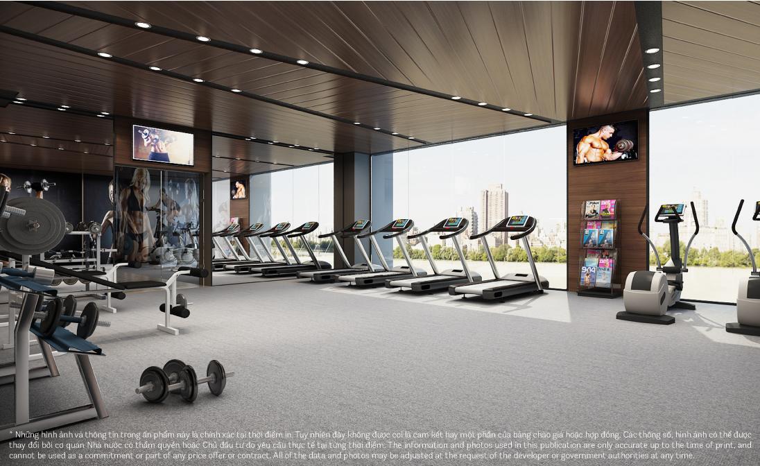 phòng tập gym manhattan tower