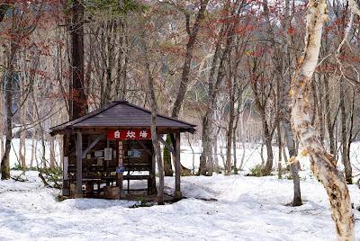 キャンプ場の自炊場