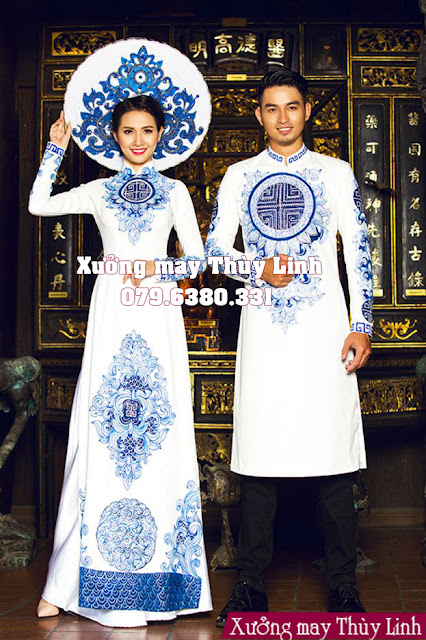 áo dài cưới cho chú rể