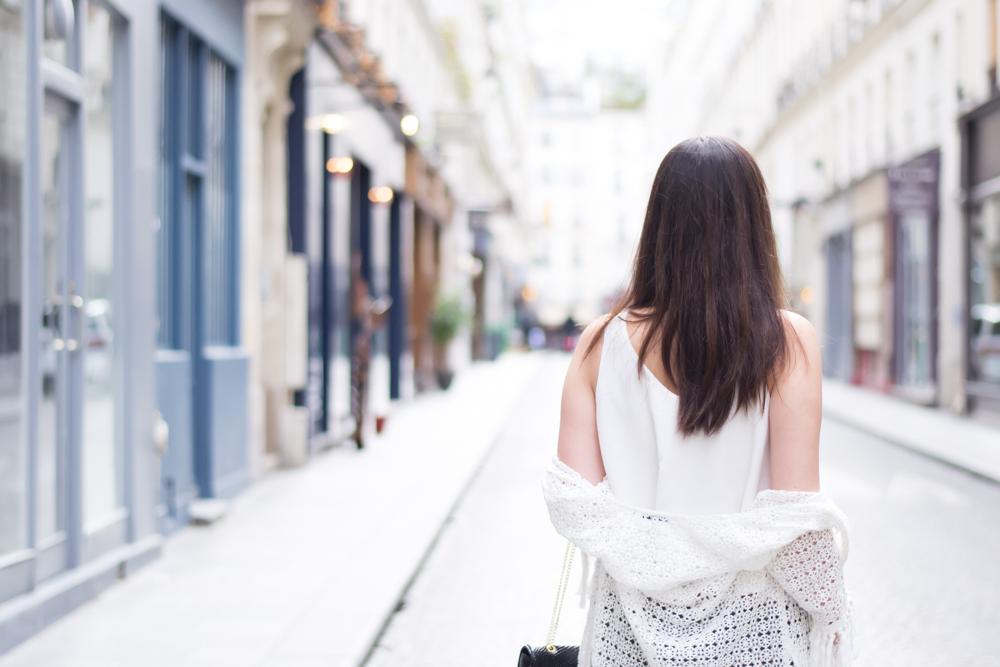 巴黎街上街道