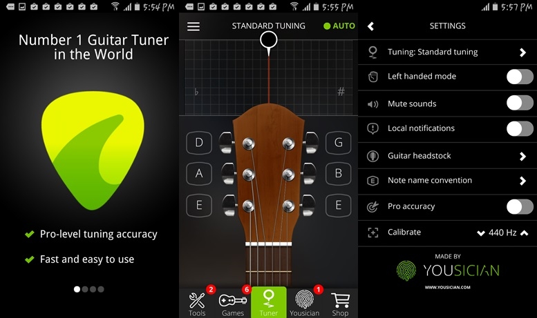 guitar tuner free guitartuna v3 2 1 patched apk latest. Black Bedroom Furniture Sets. Home Design Ideas