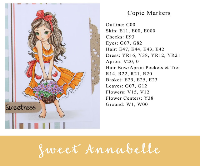 Heather's Hobbie Haven - Color Wednesday - Sweet Annabelle