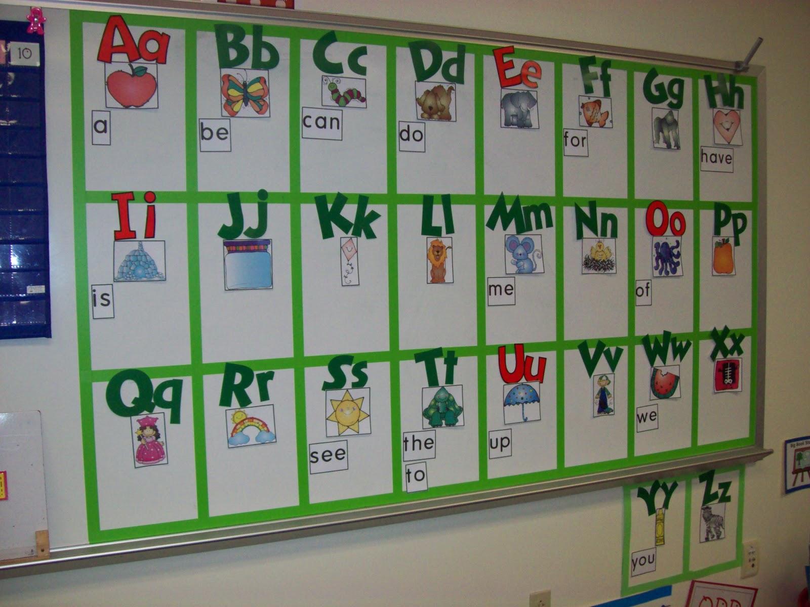 Chalk Talk A Kindergarten Blog Debbie Diller On Word Walls